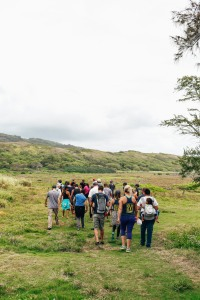 OluKai Ho'olaule'a Giveback Day 2015 Team at Waihe'e Coastal Dunes & Wetlands Refuge Photo by Mark Kushimi