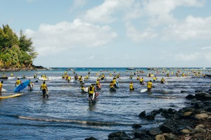 OluKai Ho'olaule'a SUP Competitors 2015 Photo by Mark Kushimi