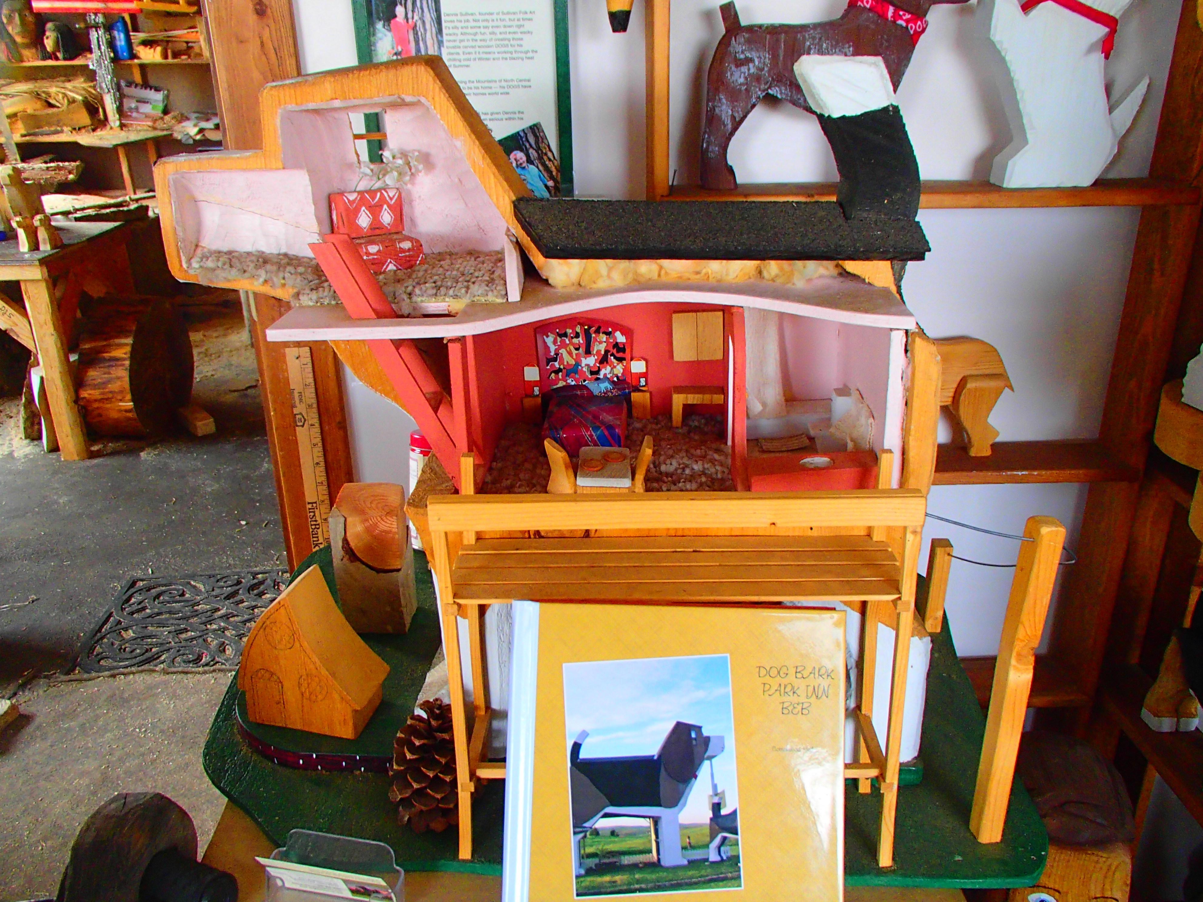 OLYMPUS DIGITAL CAMERA. The Artists Who Run The Dog Bark Park Inn ...